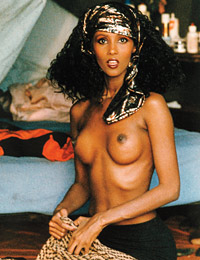 Playmate iman at playboy