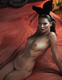 Playmate kate moss at playboy