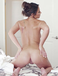 Candace leilani after shower